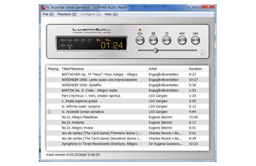 Luxman Audio Player program
